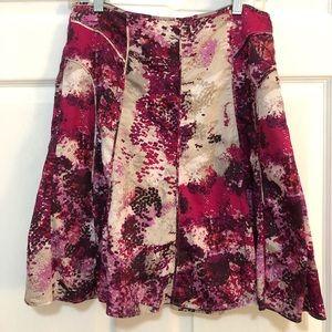 Pink and Purple Skirt